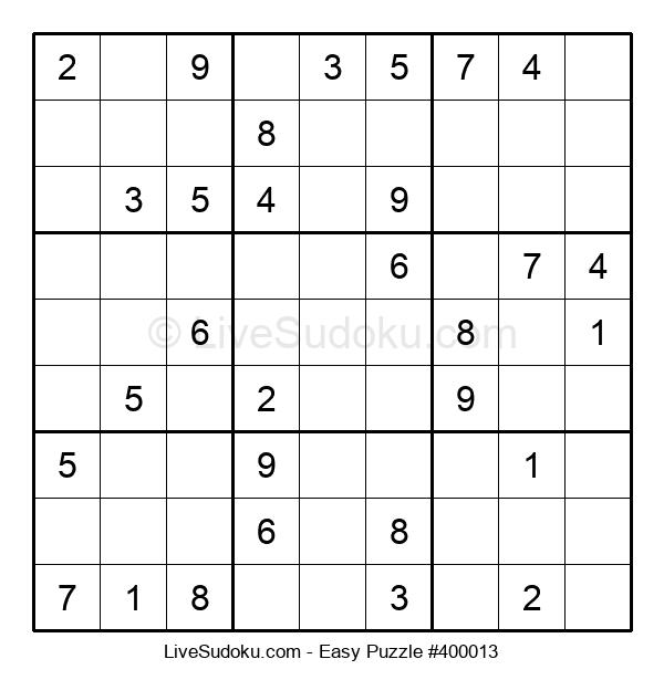 Beginners Puzzle #400013