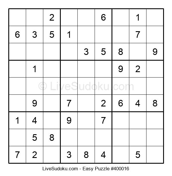 Beginners Puzzle #400016