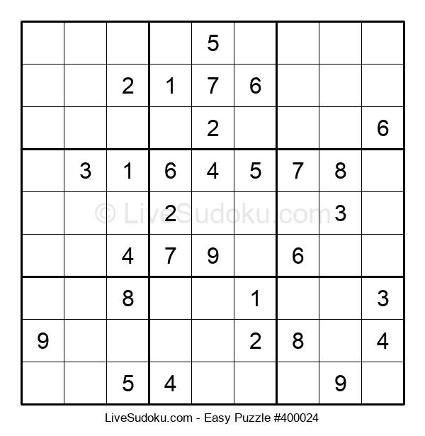 Beginners Puzzle #400024