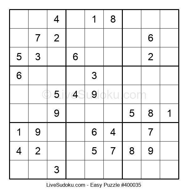 Beginners Puzzle #400035