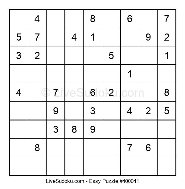 Beginners Puzzle #400041