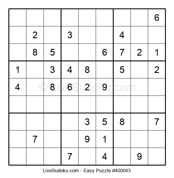 Beginners Puzzle #400043