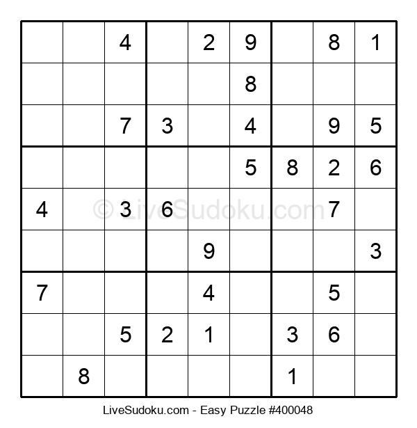 Beginners Puzzle #400048