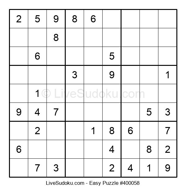 Beginners Puzzle #400058