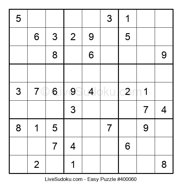 Beginners Puzzle #400060