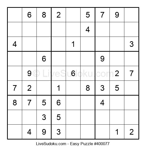 Beginners Puzzle #400077