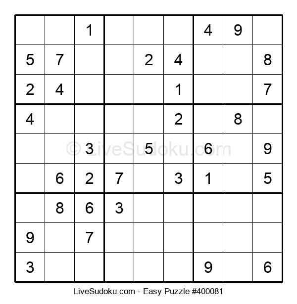 Beginners Puzzle #400081