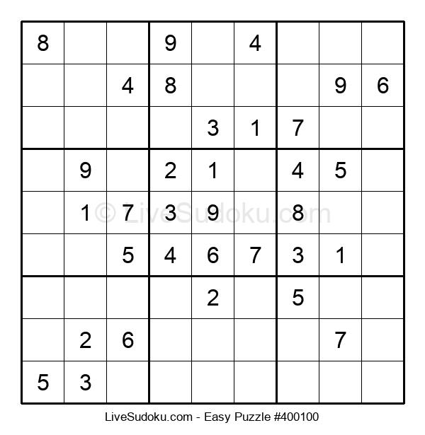 Beginners Puzzle #400100