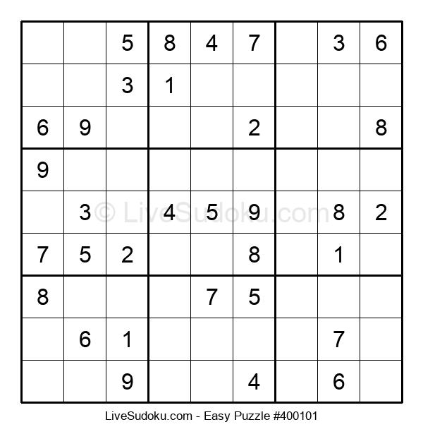 Beginners Puzzle #400101