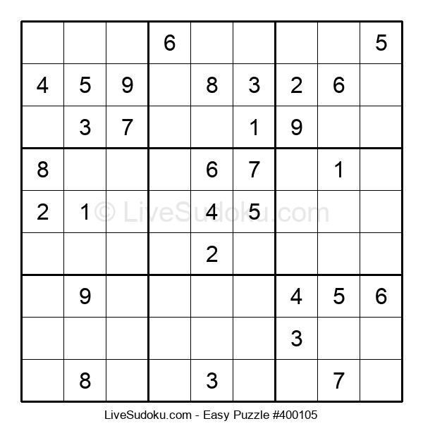 Beginners Puzzle #400105