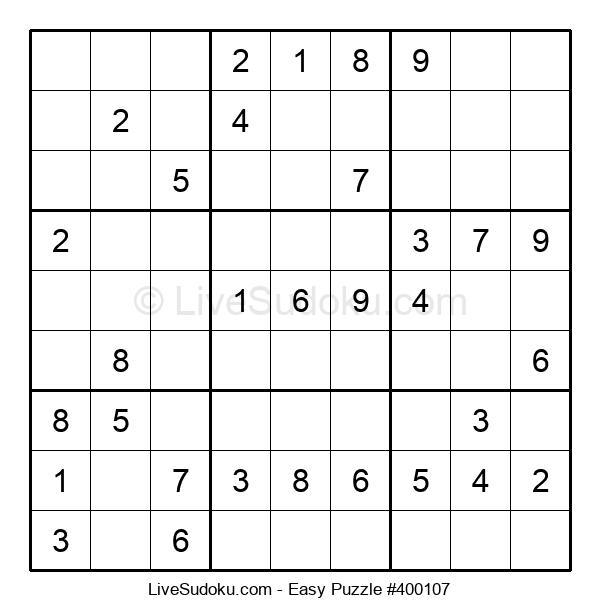Beginners Puzzle #400107