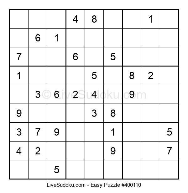 Beginners Puzzle #400110