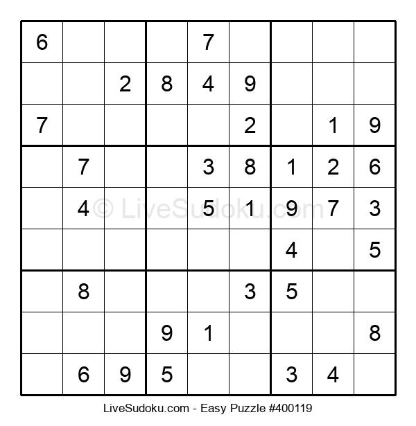 Beginners Puzzle #400119