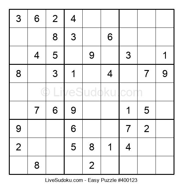 Beginners Puzzle #400123