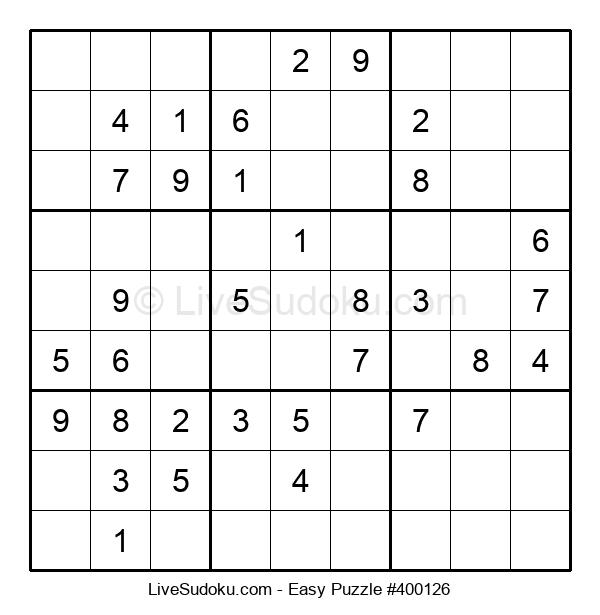 Beginners Puzzle #400126
