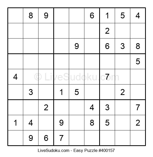 Beginners Puzzle #400157