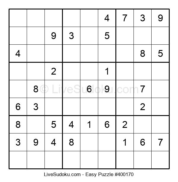 Beginners Puzzle #400170