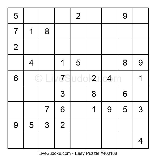 Beginners Puzzle #400188