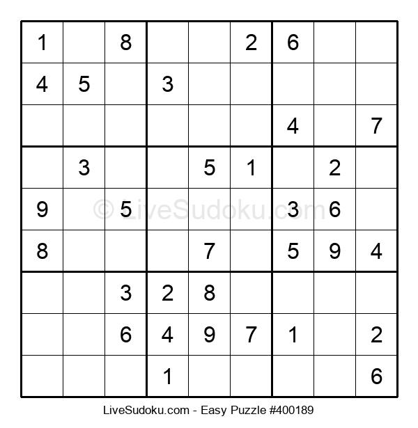 Beginners Puzzle #400189