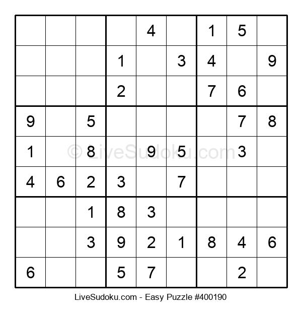 Beginners Puzzle #400190