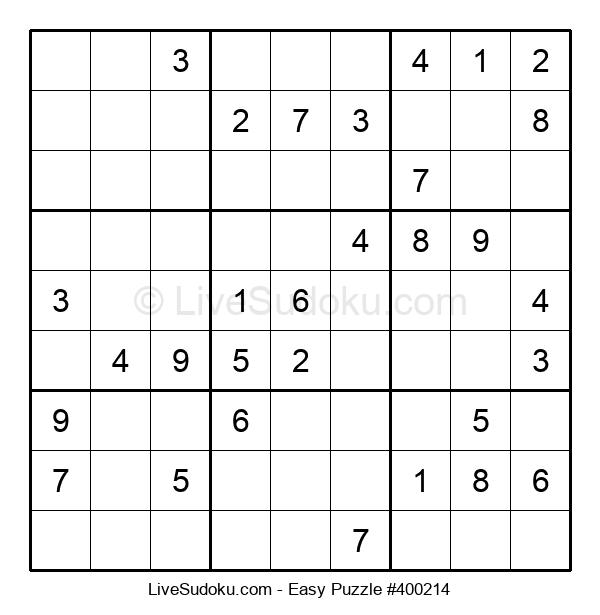 Beginners Puzzle #400214