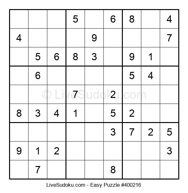 Beginners Puzzle #400216