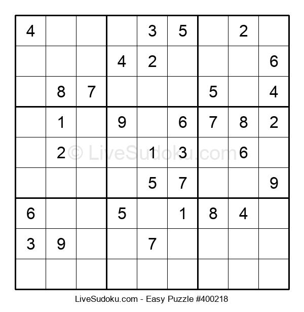 Beginners Puzzle #400218