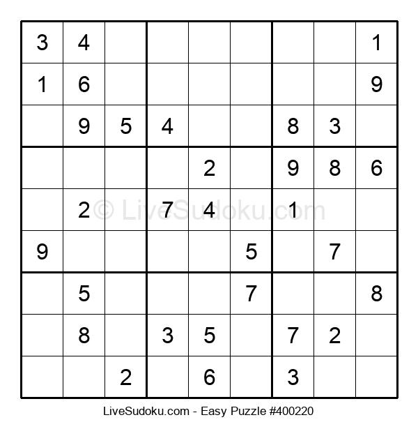 Beginners Puzzle #400220