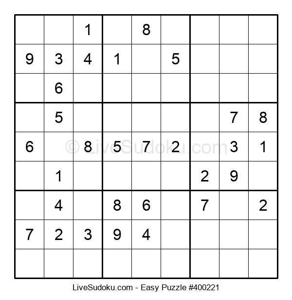 Beginners Puzzle #400221