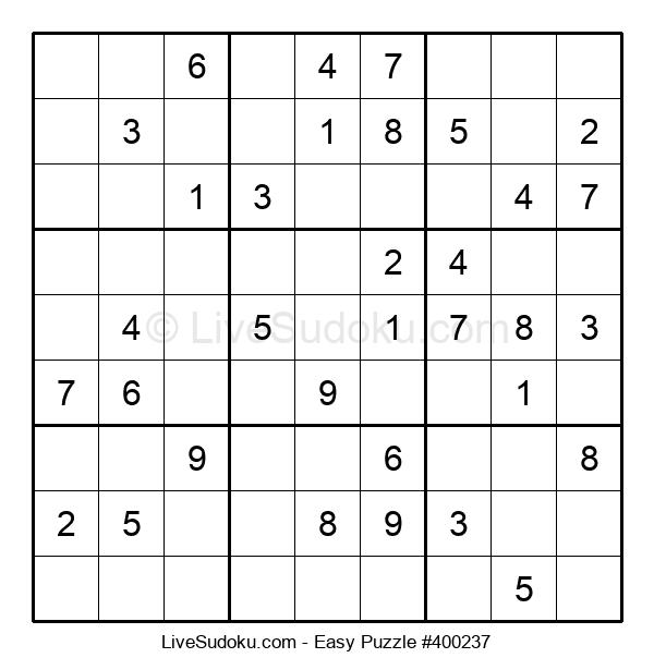 Beginners Puzzle #400237