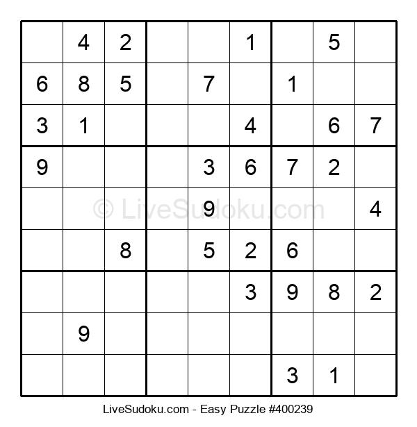 Beginners Puzzle #400239
