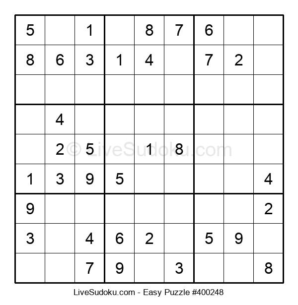 Beginners Puzzle #400248