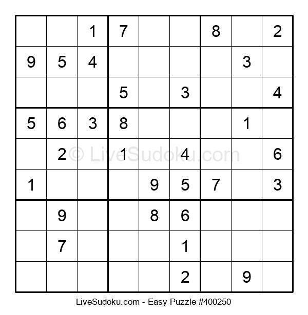 Beginners Puzzle #400250