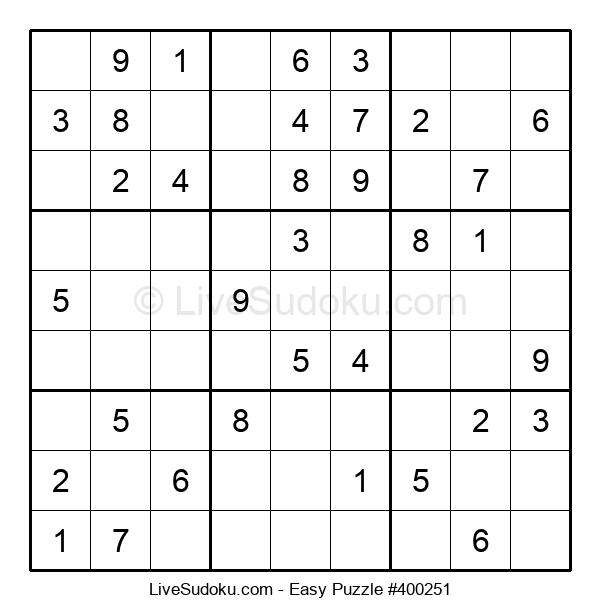 Beginners Puzzle #400251