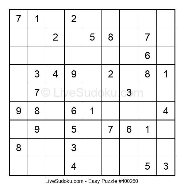 Beginners Puzzle #400260