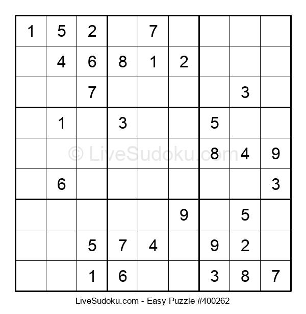 Beginners Puzzle #400262