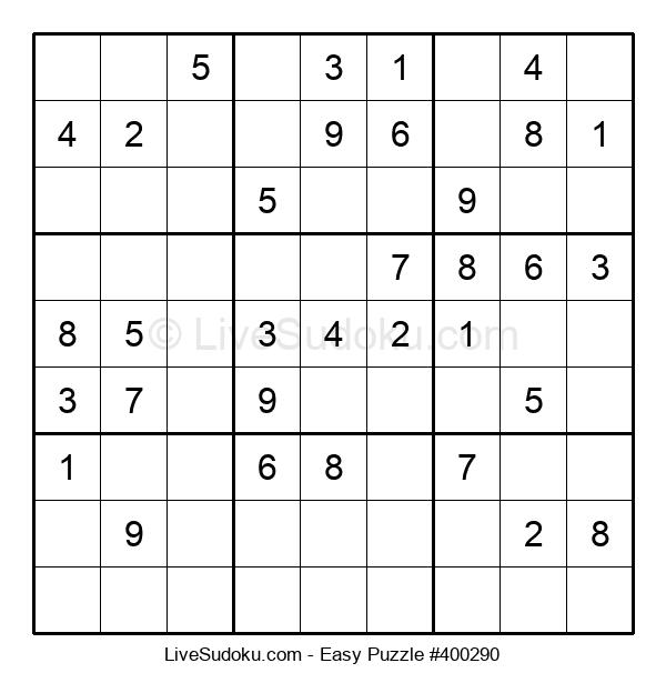 Beginners Puzzle #400290