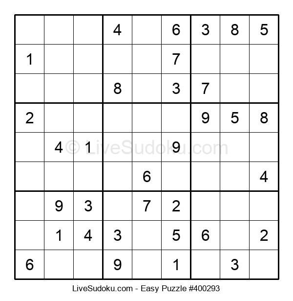 Beginners Puzzle #400293