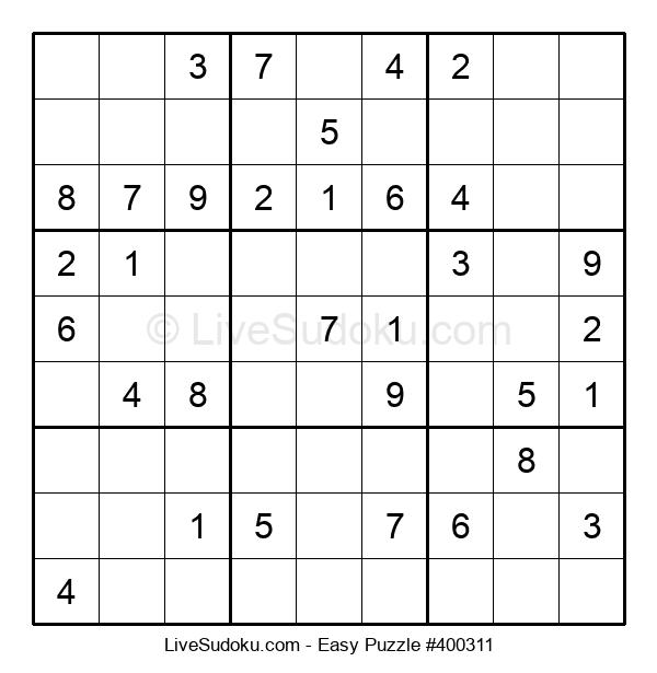 Beginners Puzzle #400311