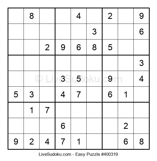 Beginners Puzzle #400319