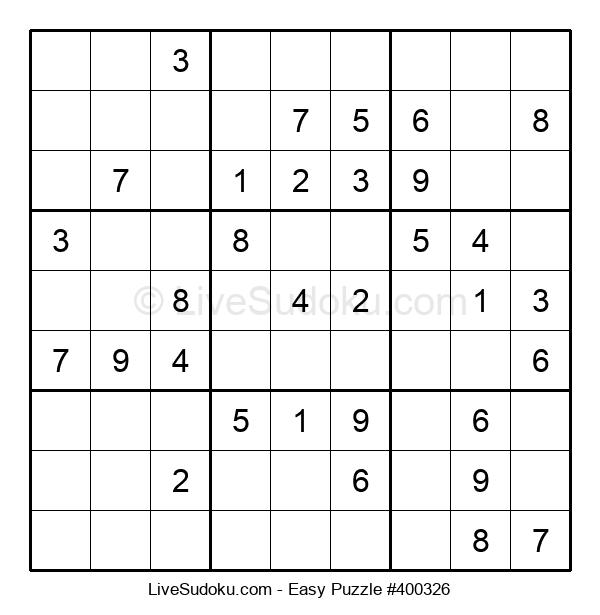 Beginners Puzzle #400326