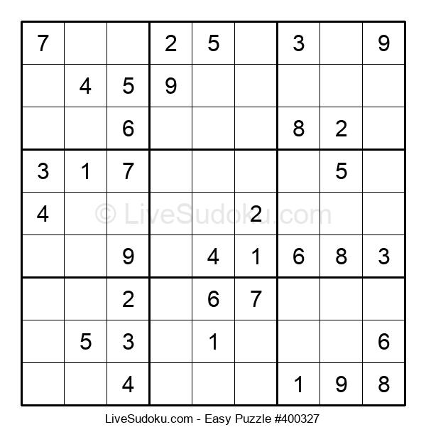 Beginners Puzzle #400327
