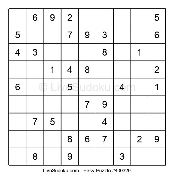 Beginners Puzzle #400329