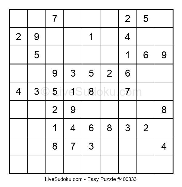Beginners Puzzle #400333