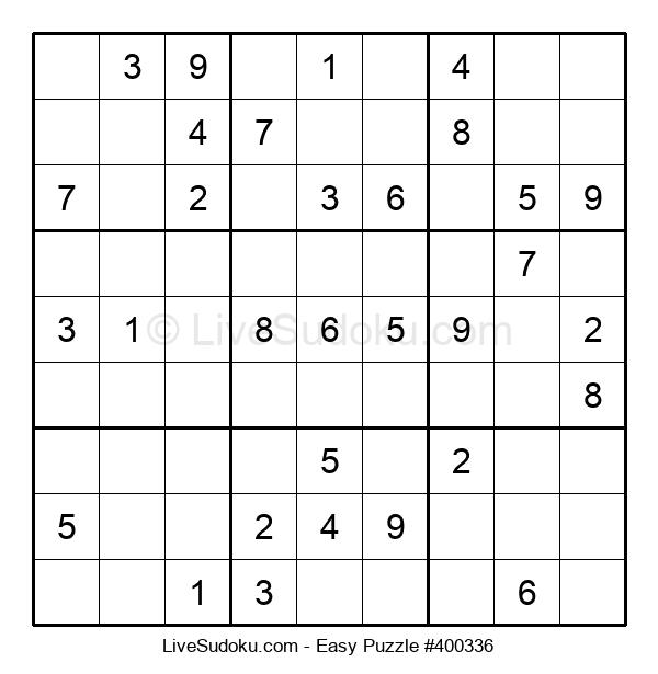 Beginners Puzzle #400336