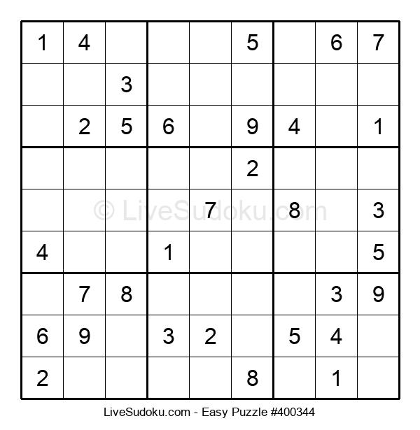 Beginners Puzzle #400344