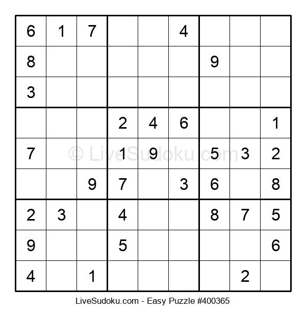 Beginners Puzzle #400365