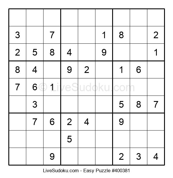 Beginners Puzzle #400381