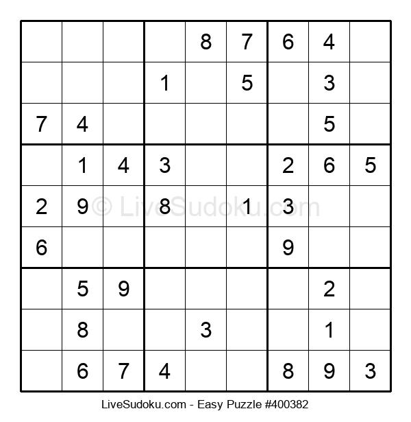 Beginners Puzzle #400382