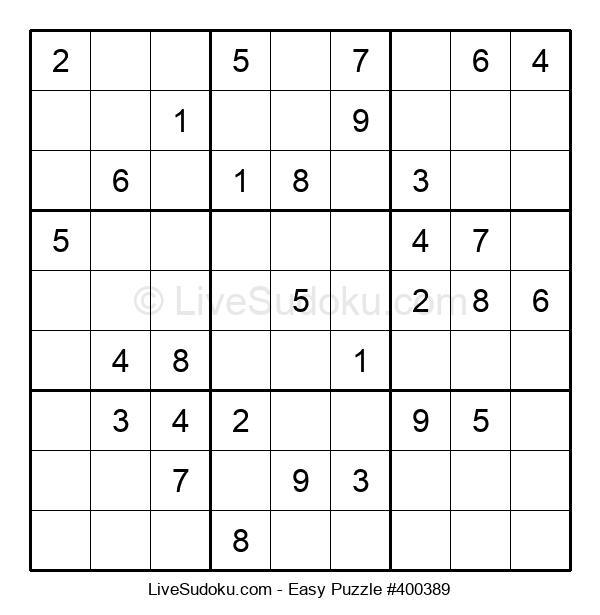Beginners Puzzle #400389